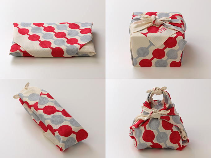 Furoshiki Wrapping Fabric Tsunagi Dango Japanese Green Tea