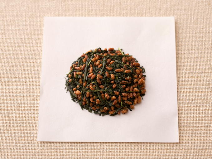 Genmaicha is a mix of roasted brown rice and Sencha.