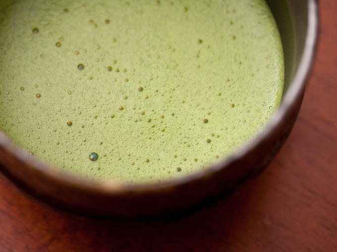 Quality Matcha should form a fine smooth lather for the best taste.