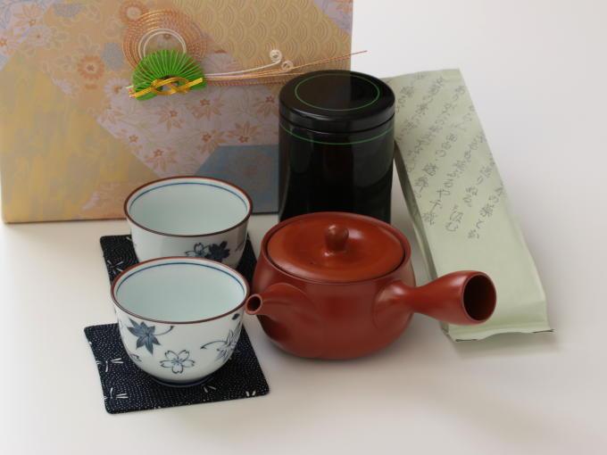 Japanese Green Tea Gift Set - JAPANESE GREEN TEA   HIBIKI-AN