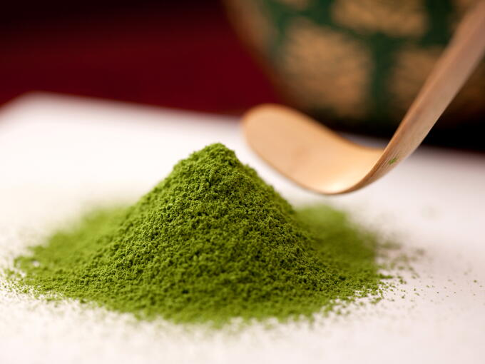 The smooth and mellow taste of this Matcha is uniquely brought out by the special drying process.