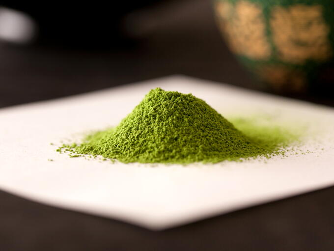 Our Matcha Pinnacle has an amazingly deep, elegantly sweet and mellow aroma.