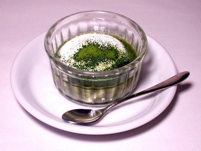 Matcha Pudding House Matcha Matcha Culinary Japanese