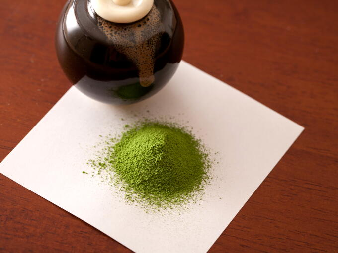 Our Matcha Super Premium is elegantly sweet, mellow, and noble.