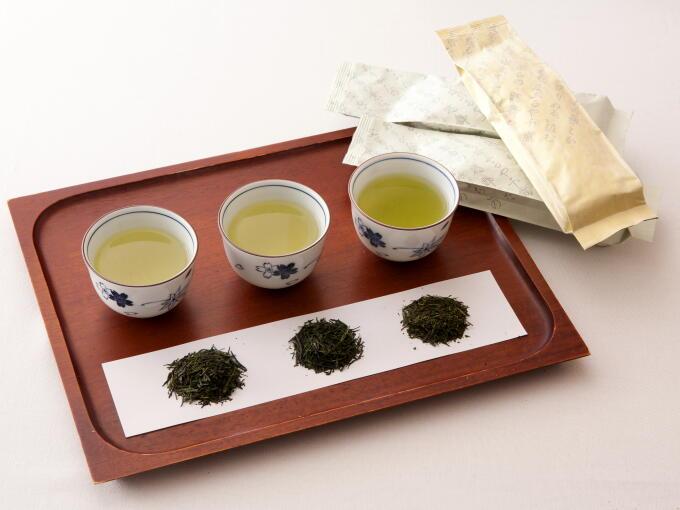 Superior Tea Tasting Set (3 x each 100g/3.53oz) - JAPANESE GREEN TEA | HIBIKI-AN