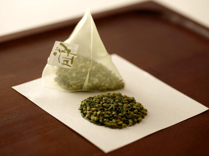 The tea leaves and nylon fabric teabag are specially designed to brew a flavorful cup of tea.
