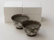 [Limited] HAGI GASANE Yunomi - pair (handcrafted Teacup)