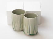 [Limited] HAIYU SOGI - pair (handcrafted Teacup)