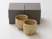 [Limited] KI KOHIKI Yunomi - pair (handcrafted Teacup)