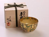 [Limited] KINPAKU TAKE (handcrafted Matcha Bowl)