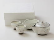 [Limited] TAWARADE KINSAI Hohin Set (handcrafted Tea Set)